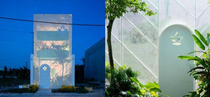 结合了城市生活与美妙自然的越南小屋