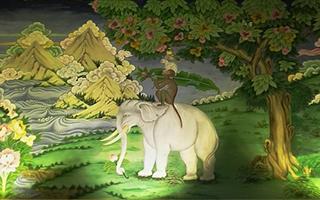 雪域高原没有大象 那么藏族艺术中的大象从何而来