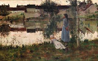 泰特美术馆以150万英镑购入19世纪油画《渡船夫》