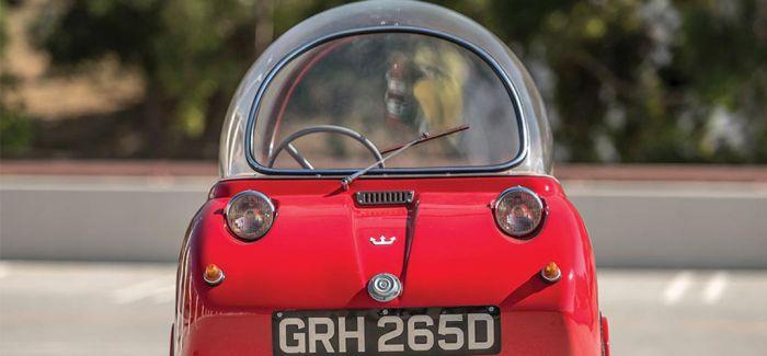 世界上发动机排量最小的微型车将被拍卖 外形似飞碟
