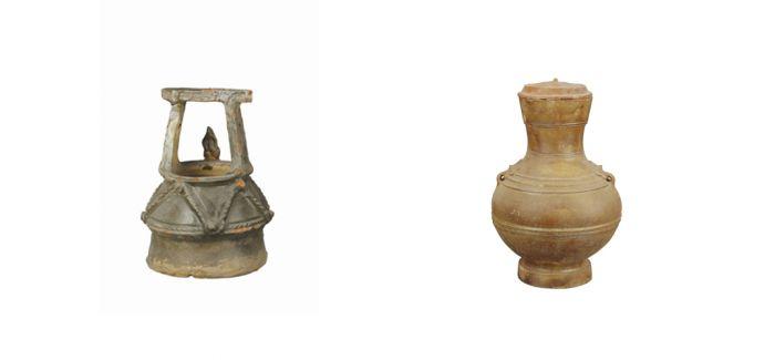 古朴端庄的汉代绿釉陶