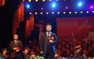 2017年3月12日 唐双宁现场创作巨幅长卷《七律长征》
