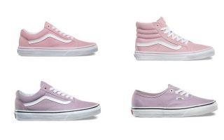 经典Vans再推两款新色 以粉 紫风靡这个夏季