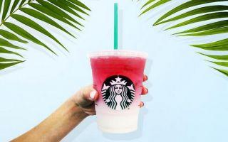 Starbucks再推全新饮品 让每一张照片都变得好梦幻