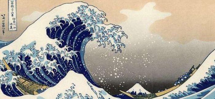葛饰北斋巨浪拍出382万港元 梵高莫奈曾深受其影响