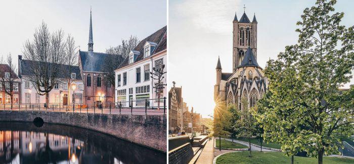 摄影师拍摄荷兰城市美景