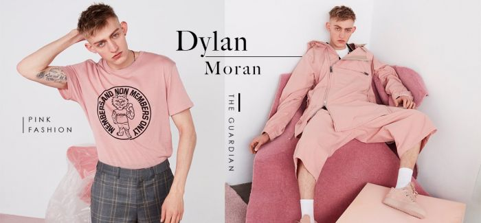 Dylan Moran 演绎全新粉红主题时尚特辑