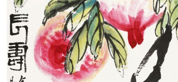 齐白石代表作《长寿》将亮相北京九歌2017春拍