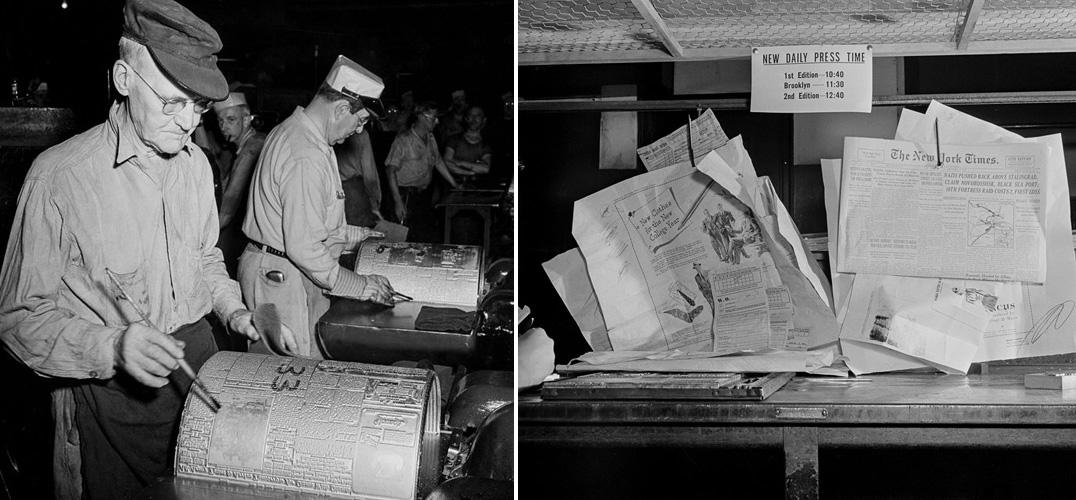 铅字印刷时代 如何出版一份《纽约时报》