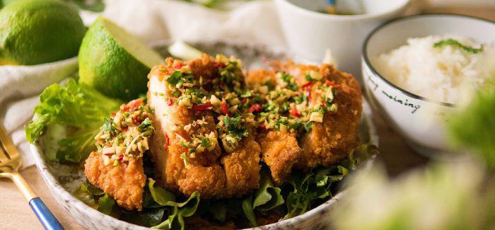 美味与快速兼具的微波食品改造 泰式椒麻鸡饭