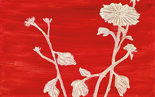 他的花和他的名字一样美 常玉的白菊2.8亿台币成交