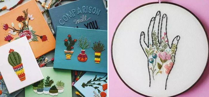 刺绣Workshop | 最美外教打开你的艺术作品集制作灵感大门