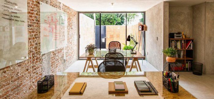 墨西哥克雷塔罗一处风格乡土的住宅兼工作室