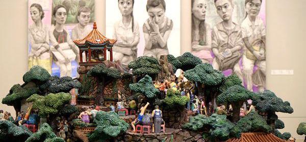 时隔33年川美作品再进京 穿透现实的启蒙之光