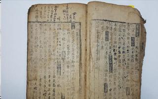 中国唐代农书最古老版本现身韩国 或被奉为国宝