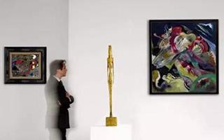 伦敦苏富比印象派及现代艺术晚拍布展现场抢先看