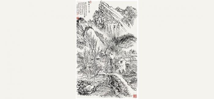 北京九歌2017春拍:张仃《雁翅太子墓》亮相