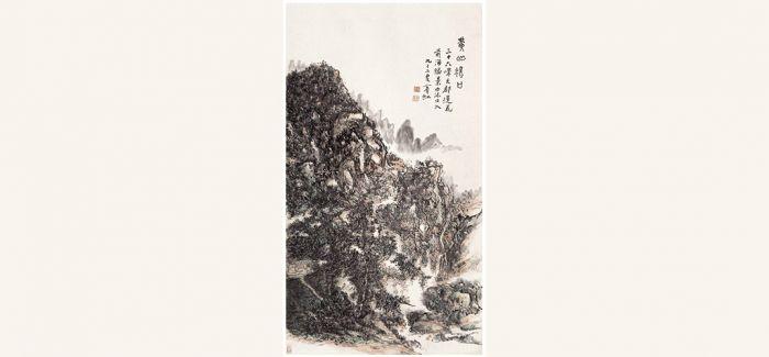 黄宾虹《黄山汤口》拍出3.45亿 潘天寿拍出1.5亿多