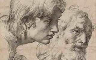 牛津大学阿什莫林博物馆展出120幅拉斐尔素描