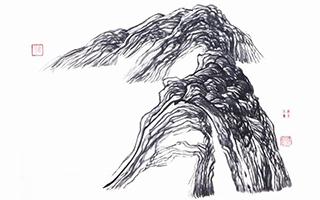 北岛西川水墨 张大春书法 这些作家的书画修养几何