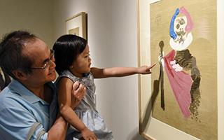 毕加索石版画作品首度在台展出