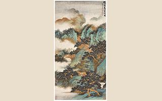 这幅画能看到吴湖帆艺术风格的转变