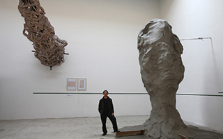 隋建国:年过半百 还没认真考虑跟雕塑的关系