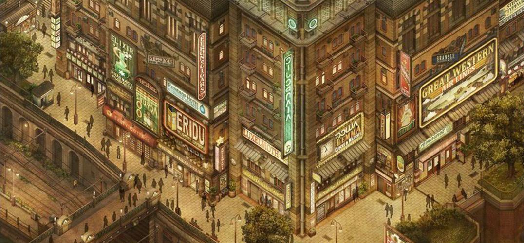 艺术家JP Cummins超精湛的城市轴测图