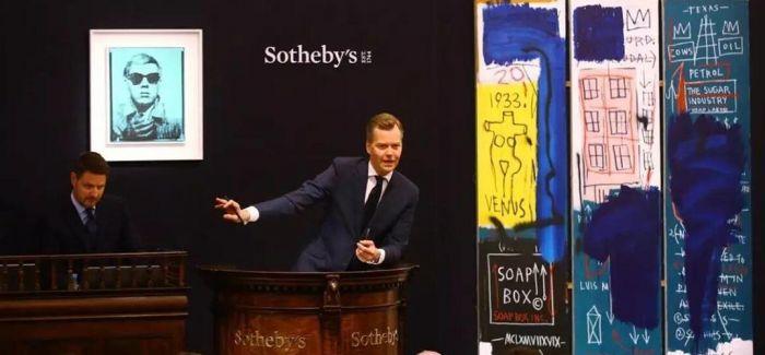 伦敦苏富比当代艺术晚拍总成交额达6230万英镑