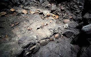 墨西哥出土大型骷髅塔 古祭祀文化再添疑点