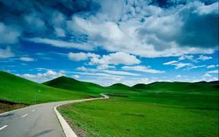 在这里 区区一条路就能美出天际