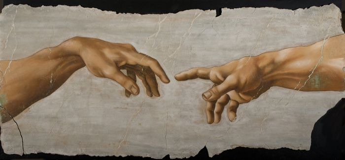 米开朗基罗国际艺术展:大卫在鸟巢驻足