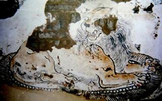 或为中国现存最早的唐代山水壁画重见天日