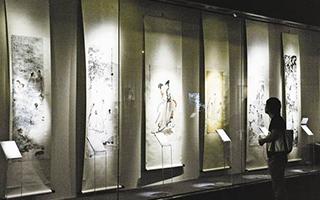 傅抱石抗战时期绘画作品在渝开展展现抗战艺术精神