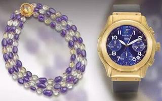 苏富比网拍将呈上多款珠宝及腕表等高级品牌配饰