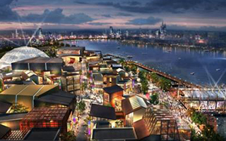 蓬皮杜将驻沪五年 后年开幕 选址徐汇滨江西岸美术馆