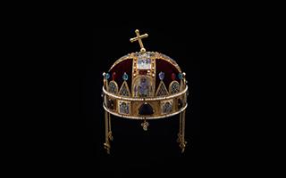 为什么匈牙利圣冠上的十字架是歪的呢?