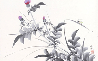 悠然入禅境!来看看日本水墨画的别样风情