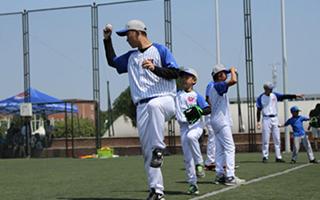 亲子坐标 | 带孩子去打一次棒球!