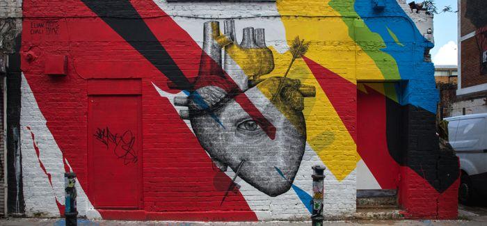 简单却又不凡的街头艺术