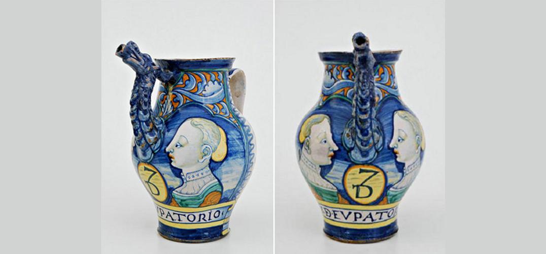 141件意大利陶器珍品 感受中西方文化的碰撞之美
