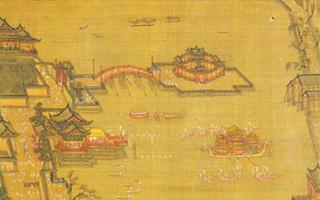 最早表现龙舟竞渡的《金明池争标图》