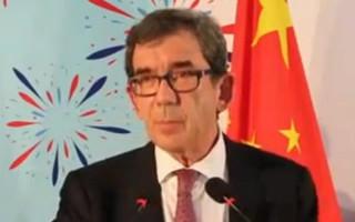 新任法大使亮相国庆:以谦逊姿态促进中法文化交流