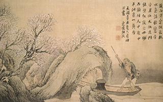 江户时期的南画:受中国二流画家影响的日本文人画