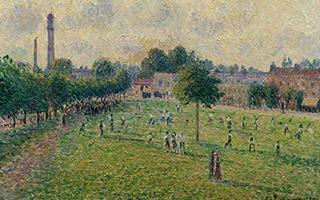 印象派们在伦敦 流亡中的法国艺术家
