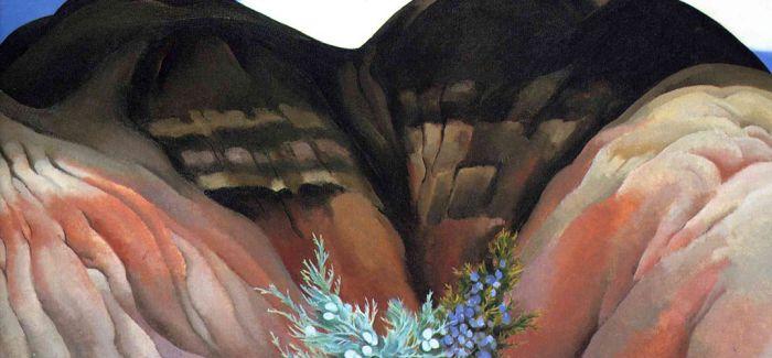 她用花卉诠释情欲 一幅画拍出4400万美元天价!