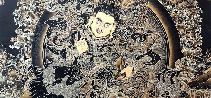 图图:唐卡艺术  炫映华夏文明的经典之作
