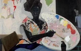 这位艺术家通过黑人的体验来体会美国人的生活