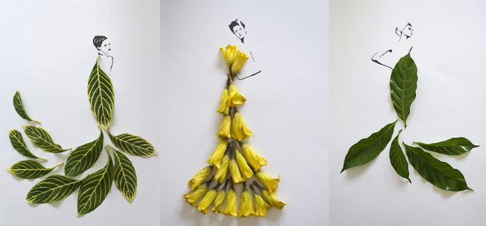 原来叶子可以如此时尚