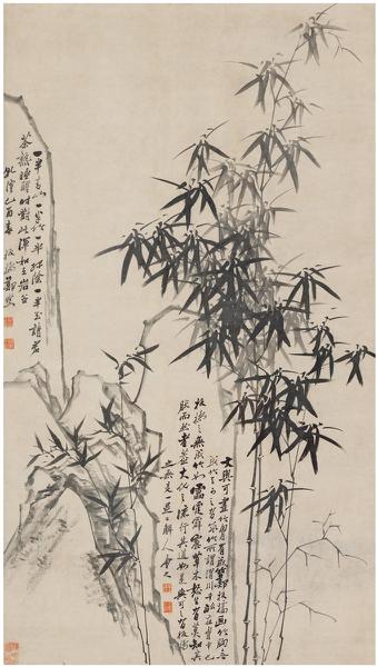Lot521 郑板桥(1693~1765) 墨竹图 起拍价RMB-600万 成交价RMB- 1104万元